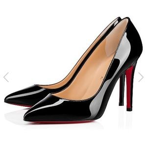 CHRISTIAN LOUBOUTIN Pigalle Follies pumps Sz 38.5